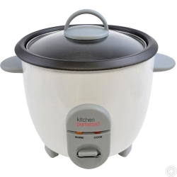 KITCHENPERFECTED 350W 0.8LTR AUTOMATIC RICE COOKER - NON STICK