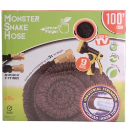 MONSTER SNAKEHOSE BLK 100' - NO RETURN