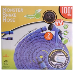 MONSTER SNAKEHOSE BLU 100' - NO RETURN