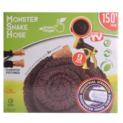 MONSTER SNAKEHOSE BLK 150' - NO RETURN