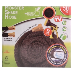 MONSTER SNAKEHOSE BLK 50' - NO RETURN
