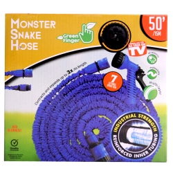 MONSTER SNAKEHOSE BLUE 50' - NO RETURN