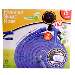 MONSTER SNAKEHOSE BLUE 75' - NO RETURN