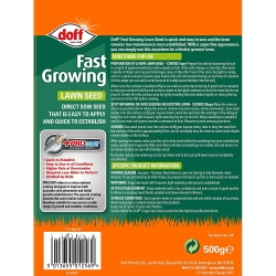 Fast Acting Lawn Seed with PROCOAT 500g