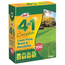 Complete Lawn Feed, Weed & Mosskiller 3.2kg