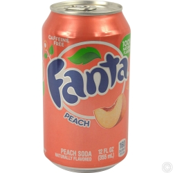 FANTA CAN 335MLX14 - PEACH