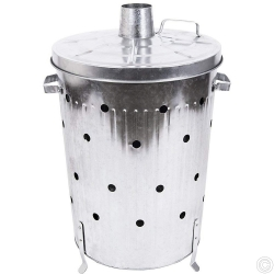 Galvanized Incinerator 85L