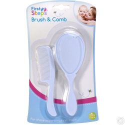 FIRST STEP BRUSH & COMB SET