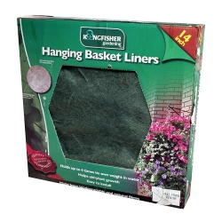 14in Jute Hanging Basket Liner