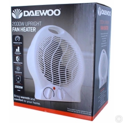 DAEWOO UPRIGHT FAN HEATER