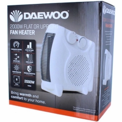 DAEWOO FLAT UPRIGHT FAN HEATER