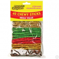 40PK CHEWY STICKS