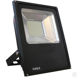 FLAT 70W BLACK LED FLOODL