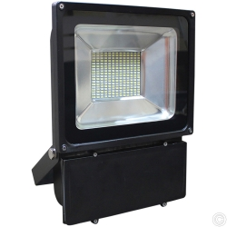 FLAT 100 BLACK LED FLOODLIGHT