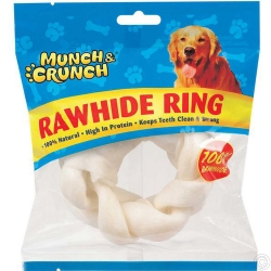 MUNCH CRUNCH RAWHIDE RING 70G