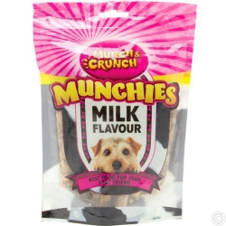 MUNCH & CRUNCH MILK MUNCHIES 250G