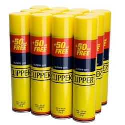 Clipper 300ml Gas Refill Adapter Cap 12Pack