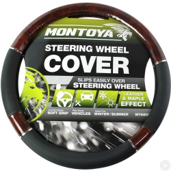 MONTOYA STEERING WHEEL COVER