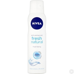 NIVEA ANTI-PERSPIRANT DEO 150ML - fresh natural