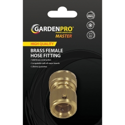 Garden Pro Master Brass Female Hose Fitting