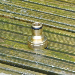 Garden Pro Master Brass Threaded Tap Connector