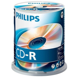Philips CD-R 80Min 700MB 52x 100SP