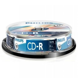 Philips CD-R 80Min 700MB 52x 10SP