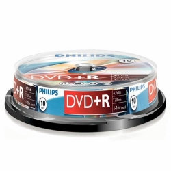 Philips DVD+R 4,7GB 16x 10SP