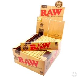 RAW K/S SLIM ROLLING PAPERS X 50