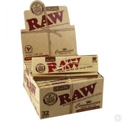 RAW ORGN KS CONNOISR PAPER+TIPS 24s