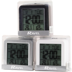 RAVEL DIGITAL ALARM CLOCK