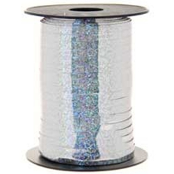 5mmx250m Silver Holographic Curling
