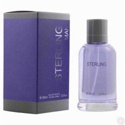 EAU DE TOILETTE/PARFUME 100ML - STERLING MAN