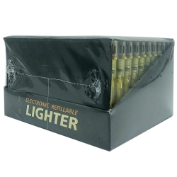 ELECTRONIC REFILLABLE LIGHTERS 50PK