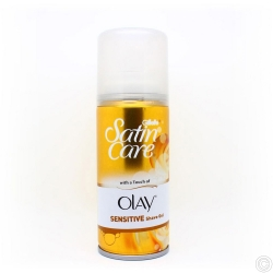 GILLETTE SATIN CARE  SHAVE GEL 75ML - TOUCH OF OLAY