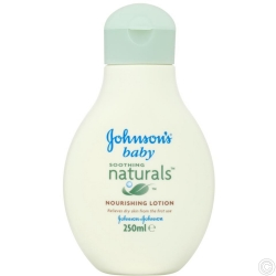 JOHNSON'S BABY NATURALS LOTION 250ML