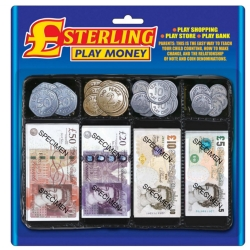 STERLING PLAY MONEY SET