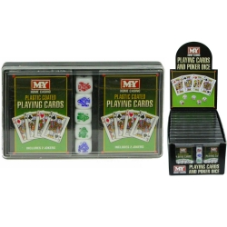 2 PACKS PF PLAYING CARDS