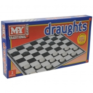 DRAUGHTS GAME IN PRINTED BOX