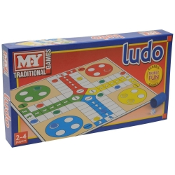 LUDO GAME IN PRINTED BOX